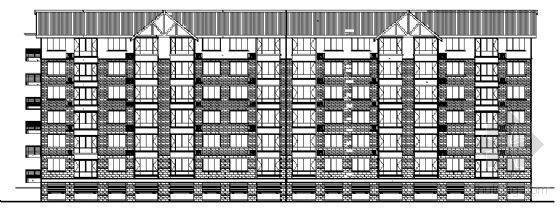 四川省御营山景6#楼建筑结构施工图
