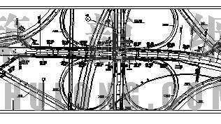 某立交桥非机动车道人行道雨水设计