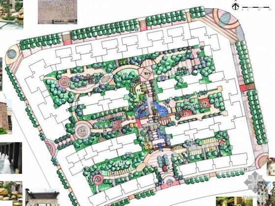 中山小区景观方案设计