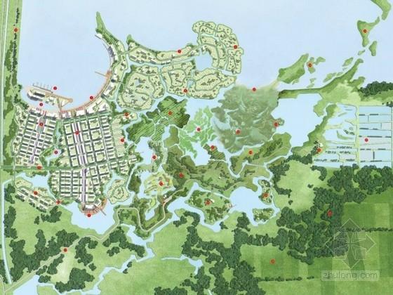 [天津]生态湿地公园总体概念规划设计方案