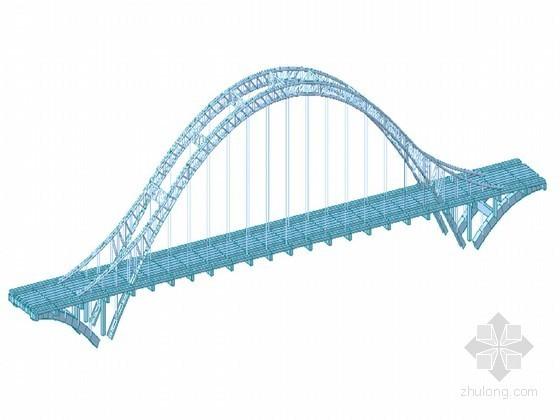 中承式钢管混凝土拱桥上部及下部结构计算书(内力计算 应力验算)