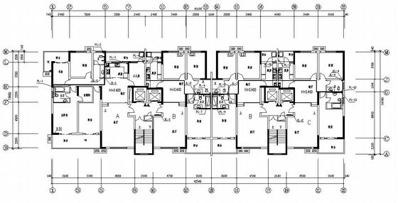 湖南某十八层住宅给排水施工图