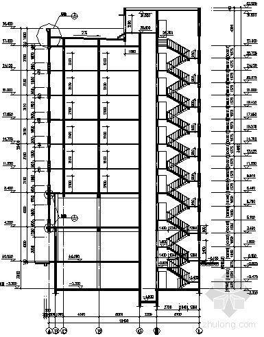 某九层商住楼建筑方案图-2