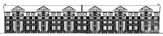 某五层复式联排别墅建筑施工图