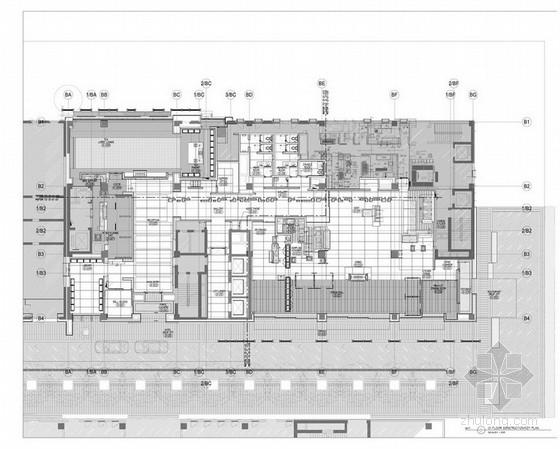 [太原]国际品牌酒店室内装修施工图方案