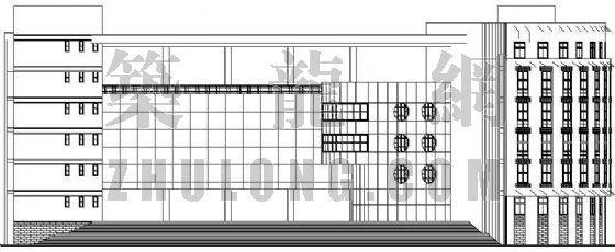 某中学综合楼全套建筑施工图