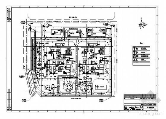 某空分项目空分装置给排水系统全套图纸
