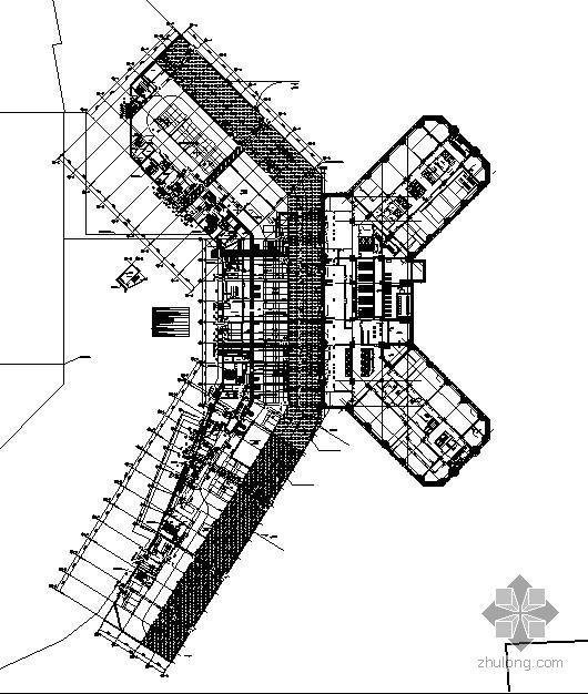 北京某社区商业项目D座给排水图纸