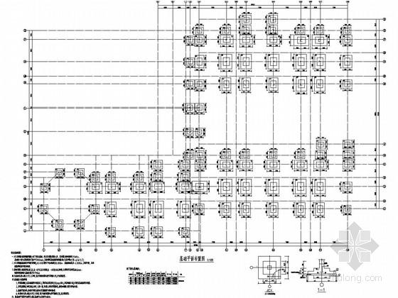 [江西]地上三层框架结构幼儿园结构施工图