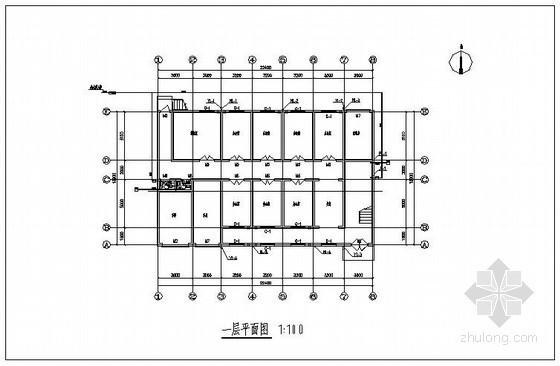 某办公楼给排水施工图(带计算书)