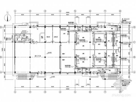[安徽]多层食堂空调通风系统设计施工图