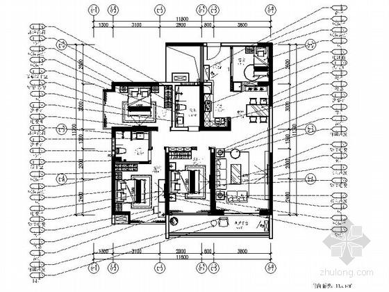 [广东]港式三居室室内装修图(含实景)