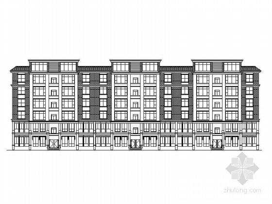 [云南]住宅区规划及框架结构高层住宅楼建筑施工图(知名事务所含效果图)