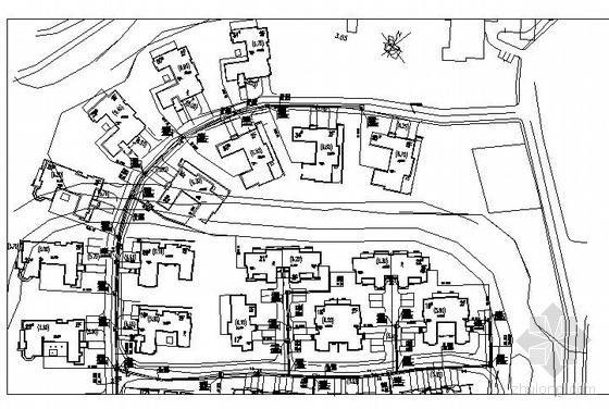 某别墅区室外热力管道工程施工图