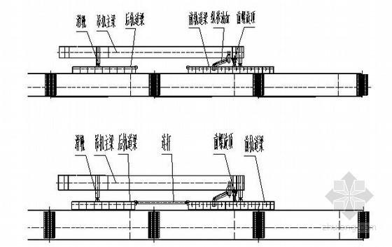 u梁预制架设资料下载-公铁两用大桥2#、3#墩整节段钢桁梁架设施工工艺
