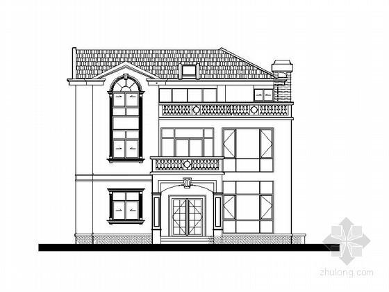 某三层私人别墅建筑施工图(370)