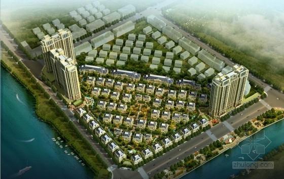 [浙江]法式风格高层住宅楼建筑设计方案文本(含CAD)