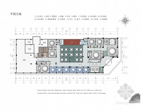 精品中式风格餐厅室内毕业设计全套方案(含分析图 推荐!)