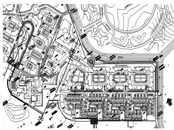 [长沙]某高档小区规划设计(含多种公建)