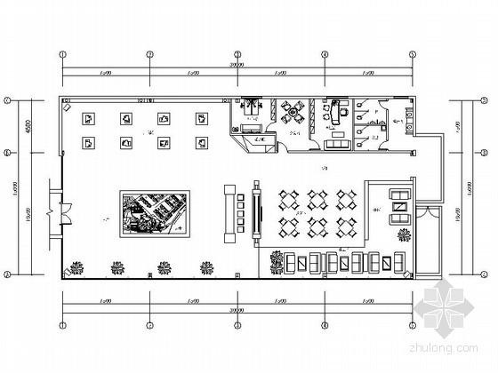 [四川]精装欧式楼盘销售中心室内装饰装修图