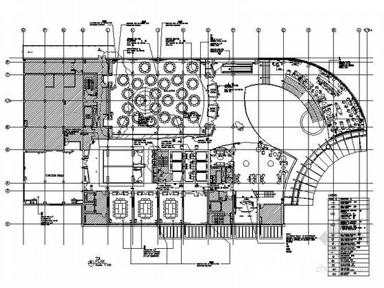 [上海]五星级酒店宴会大厅施工图