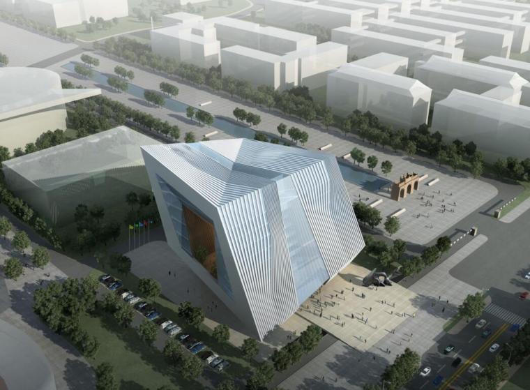 [四川]艺术教育中心建设建筑设计方案(PDF+78页)