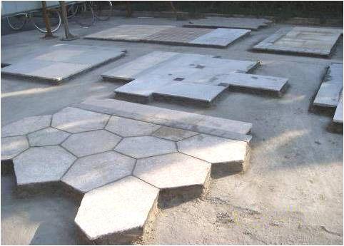 景观地面石材铺装前该如何排版?_2