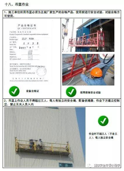 一整套工程现场安全标准图册:我给满分!_42