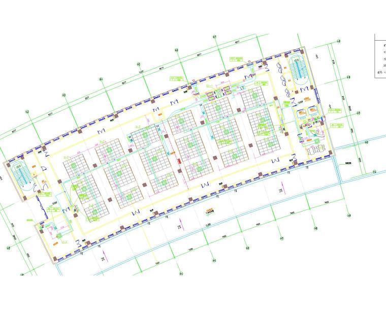 启东市便民服务中心暖通设计全套图纸(包括VRV系统原理)