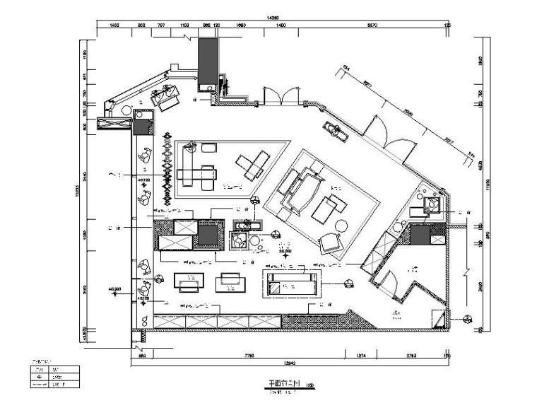 [广东]GUCCI专卖店室内装饰设计施工图(含效果图)