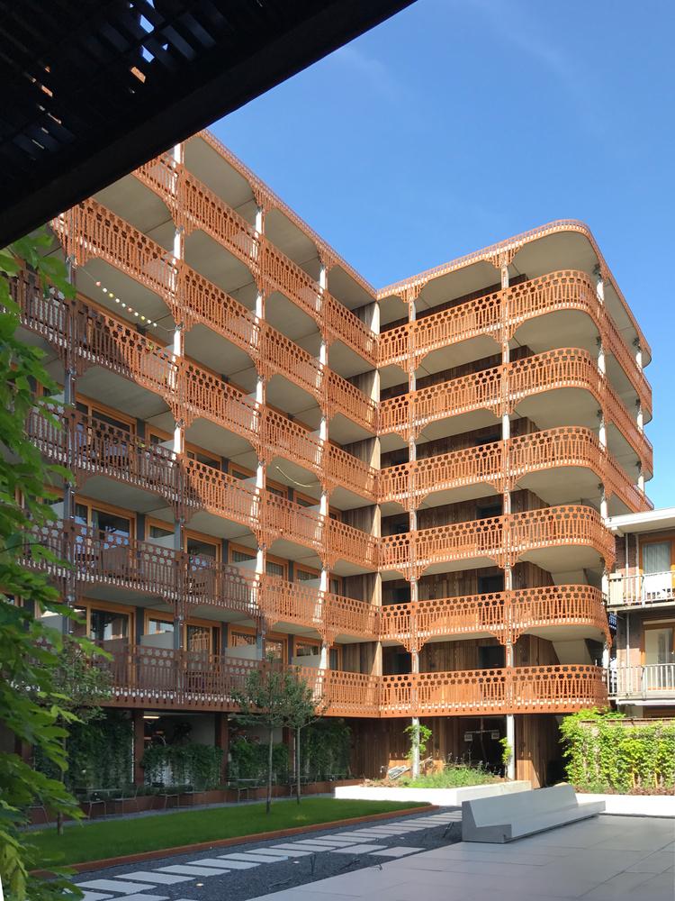 荷兰预制混凝土模块式的住宅-荷兰预制混凝土模块的住宅外部实景图 (2)