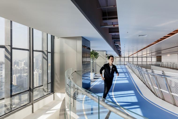 深圳连接高效的腾讯新总部内部实景图 (10)