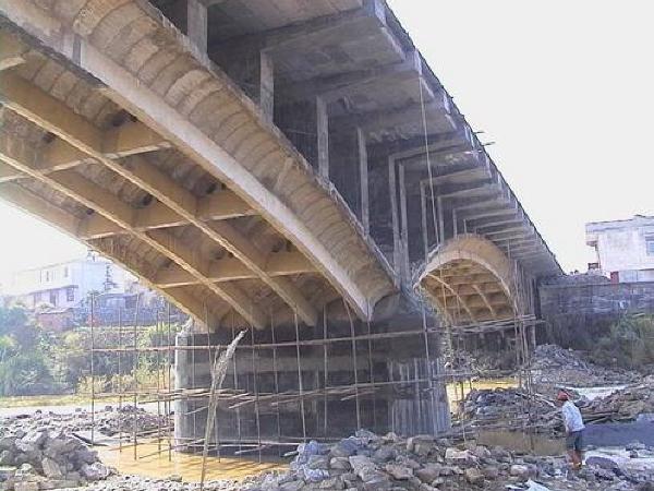 桥梁加固工程施工组织设计