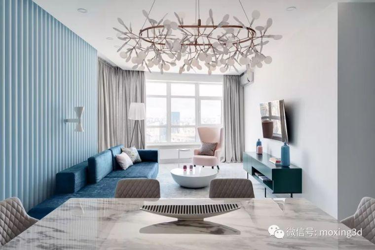 基辅现代简约风格住宅设计
