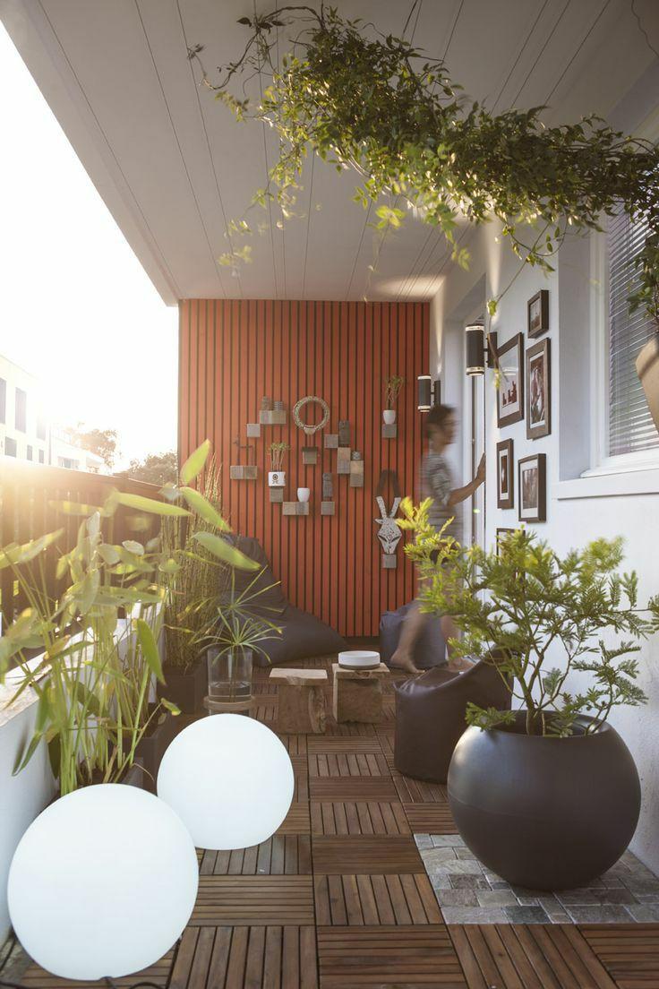 30个开放式阳台花园设计方案_16