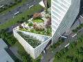 深大地铁超高层办公楼建筑设计方案文本