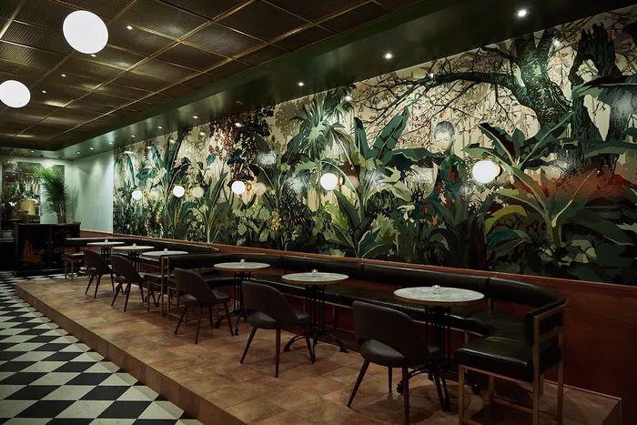 别找了,2018年最好看的餐饮空间设计都在这里了_23