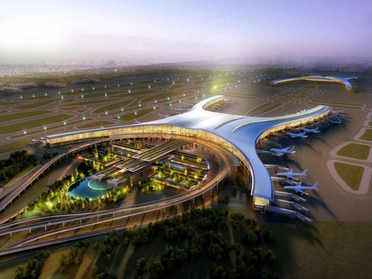 BIM机场T3航站楼案例