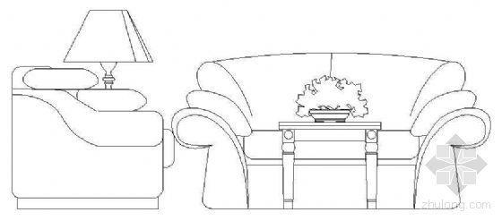 沙发立面图块1