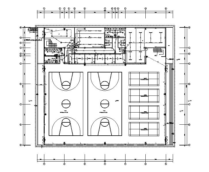 江西学校二层操场电气施工图(图审回复+综合楼全套看下面关联资料)