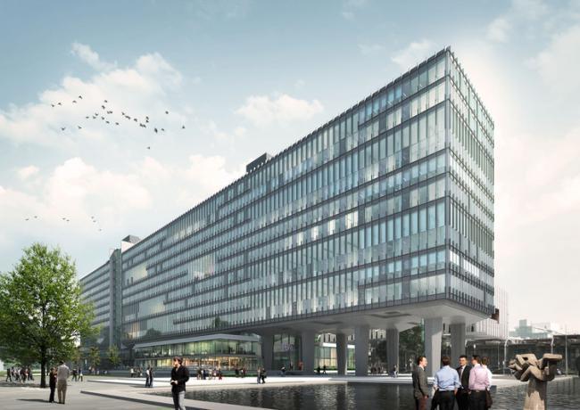 埃因霍温理工大学主教学楼可持续建筑设计方案
