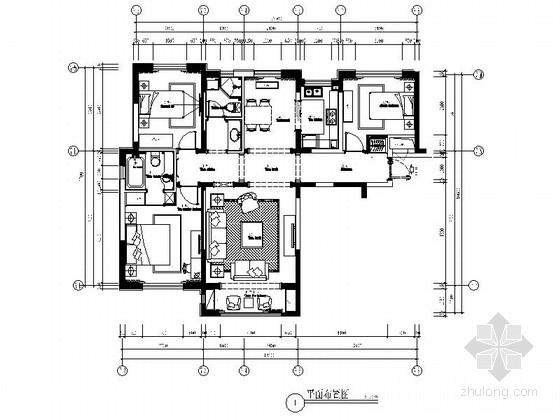 [大连]温馨简欧风格三居室室内装修图