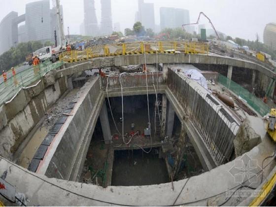 [辽宁]地铁地下双层分离岛式车站及矿山法区间隧道工程技术标(193页 浅埋暗挖法)