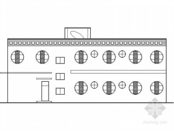 [四川]2层现代风格乡镇幼儿园建筑施工图