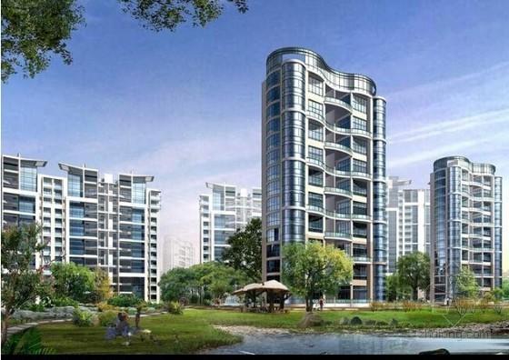 [知名地产]山东大型住宅区建设工程施工合同(103页)
