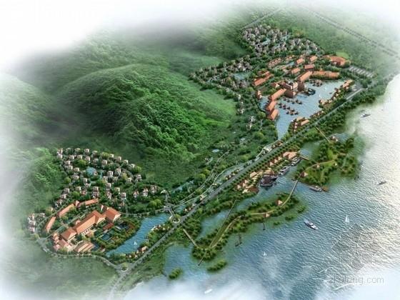 [江苏]多功能国际温泉度假养生项目景观设计方案(知名设计所)
