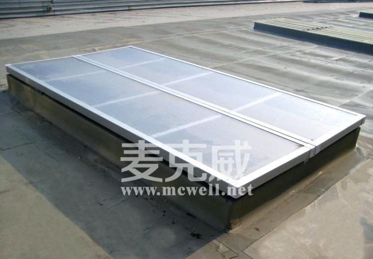 一字型电动采光排烟天窗在工业厂房中的应用