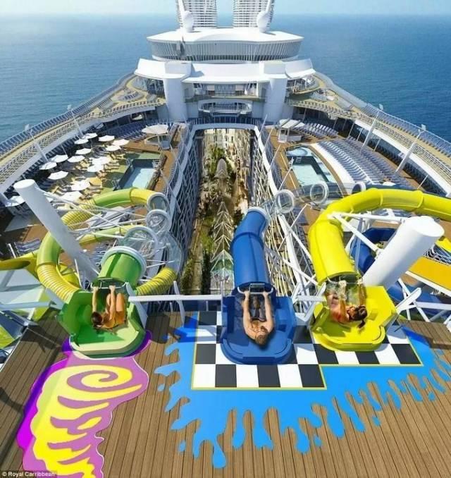 """一座海上的超级巨无霸,把""""公园""""搬到了船上!!_11"""