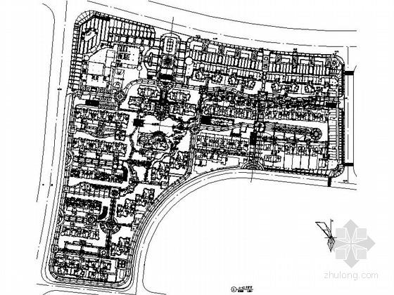 [长沙]住宅庭院景观设计施工图