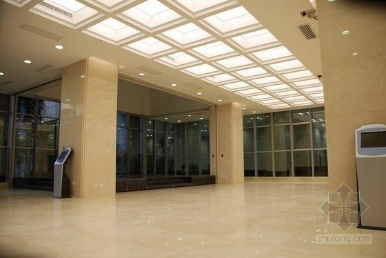[广东]独创省级国家权力机关办公楼室内装修施工图(含实景)大堂实景图